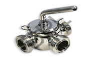 ASTM-A403-316L-Dairy-Industrial-Valve