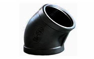 ASTM A350 LF2 LTC Forged 45 Degree Elbow