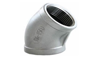 ASTM A182 SS 304 Forged 45 Degree Elbow