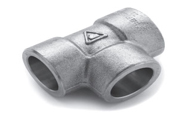 ASTM A182 SS 304 Forged Socket Weld Tee