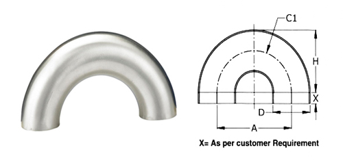 Stainless Steel Dairy Bend