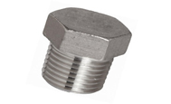 ASTM A182 304 Threaded / Screwed Hex Plug